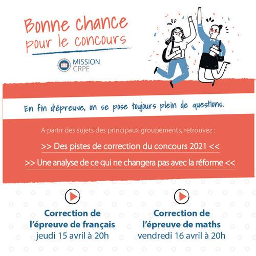 correction annales crpe 2021 admissibilité maths français